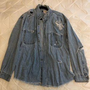 Furst of a Kind denim shirt jacket
